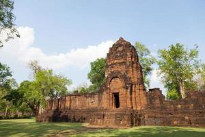 Prasat Muang Tam Ruinen in Thailand foto