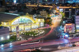 hua lamphong bahnhof in bangkok