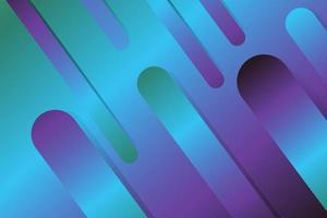 blauer und violetter geometrischer abstrakter Hintergrund