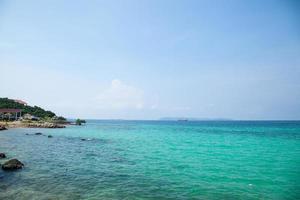 Strand von Koh Larn foto