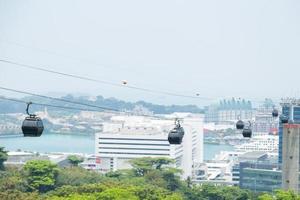 Seilbahn in Singapur