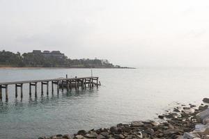 Pier am Meer