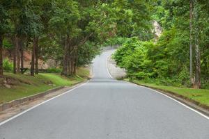 Straße auf dem Land foto