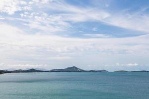 Küste von Koh Samui in Thailand foto