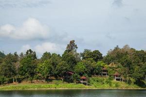 Resort am Fluss in Thailand
