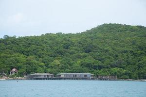 Resort am Meer in Thailand foto