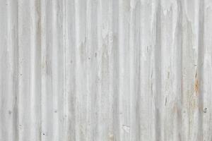 weißer Zinkhintergrund foto