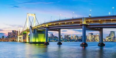Tokio Skyline am Abend