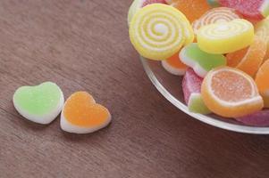 Gelee süße Süßigkeiten