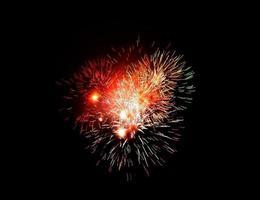 Gruppe von Feuerwerkskörpern