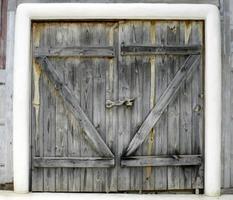 alte Holztüren foto