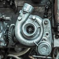 ein Teil eines Automotors