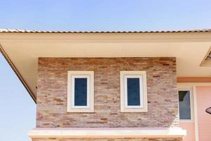 Fenster auf ein modernes Haus