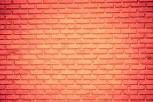 Hintergrund der roten Backsteinmauer foto