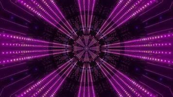 lila und weißes Licht und Formen Kaleidoskop 3d Illustration für Hintergrund oder Tapete foto