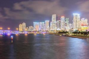 Skyline der Stadt Miami, Florida, USA, 2016