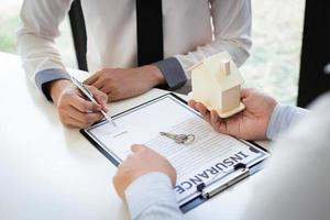 Versicherungsformulare für Hausbesitzer