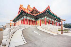 Nationaltheater und Konzertsaal in Taipeh, Taiwan foto
