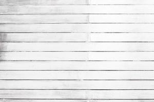 weiße Holzbeschaffenheit Wand- und Bodenhintergrund foto
