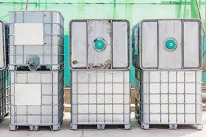 industrielle Behälter für flüssige Chemikalien