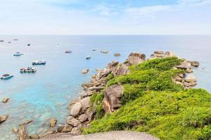 Aussichtspunkt auf Similan Island, Phuket, Thailand