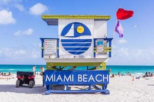 Rettungsschwimmerhaus in Miami Beach, Florida, 2017