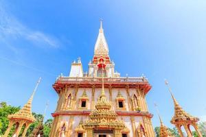 Tempel Chaitararam in der Provinz Phuket, Thailand foto