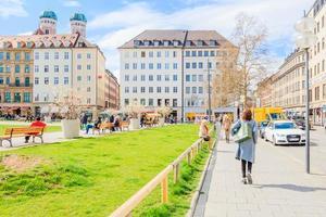 Menschen in München, Deutschland, 2016