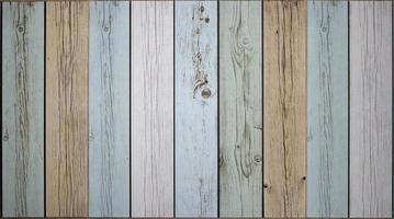 mehrfarbiger Holzhintergrund foto