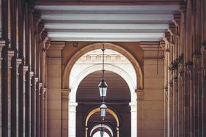 symmetrische Ansicht der Passagen foto