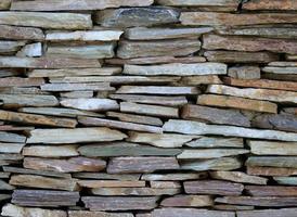 natürliche raue Steine foto