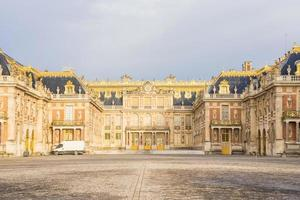 der Palast von Versailles in Frankreich