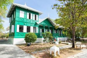 Haus im klassischen Stil in Thailand foto