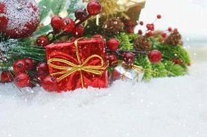 Weihnachtsgeschenk Hintergrund