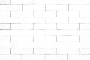 weißer Backsteinmauerhintergrund foto