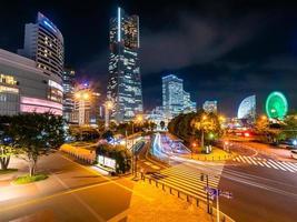 Yokohama Skyline in Japan