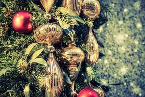 Weihnachtsdekoration Hintergrund