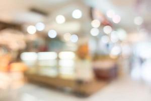 abstrakte Unschärfe Einkaufszentrum Hintergrund foto