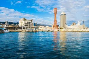 schönes Stadtbild von Kobe City, Japan