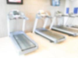 abstrakte Unschärfe Fitnessstudio und Fitness Hintergrund