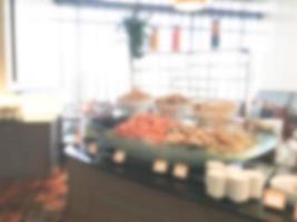 abstrakte Unschärfe Restaurant Hintergrund foto