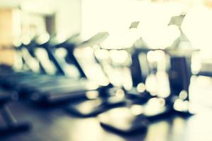 abstrakte Unschärfe Fitnessstudio Hintergrund