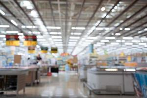 unscharfer Hintergrund des Lebensmittelgeschäfts