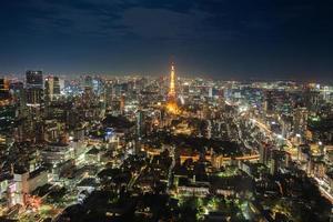 Langzeitbelichtung eines Stadtbildes