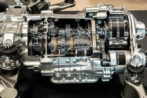 Ansicht eines Motors