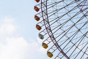 Riesenrad während des Tages foto