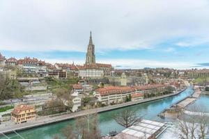 Panoramablick auf Bern, die Hauptstadt der Schweiz