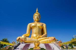 ang thong, thailand, 2020 - großer buddha von thailand