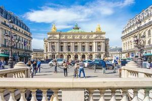 Opera Garnier und die Nationale Musikakademie in Paris, Frankreich, 2018