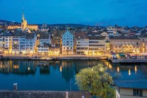 Blick auf Zürich, Schweiz